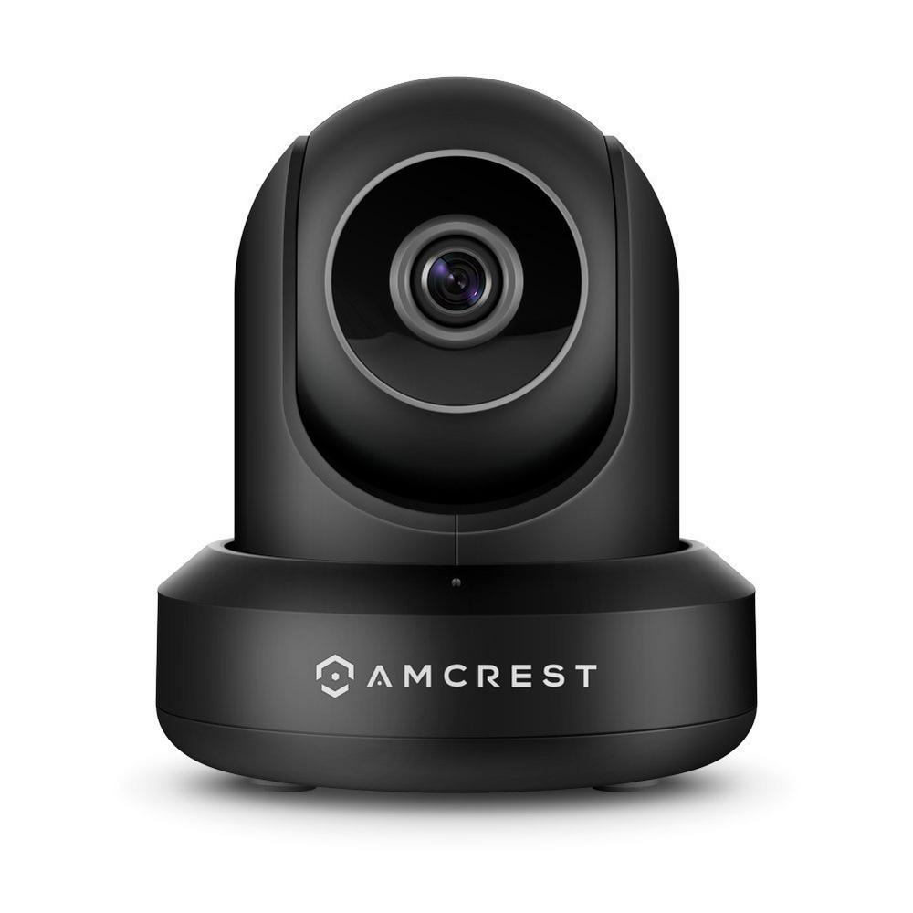 AMCREST Amcrest 1080p Wi-Fi Video Monitoring Security Wireless IP Camera with Pan/Tilt, 2-Way Audio, Plug and Play Setup