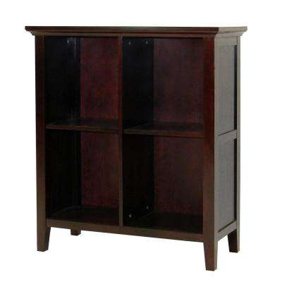 Ferndale Espresso 4-Shelf Display/Bookcase