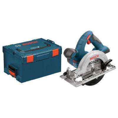 18 Volt Lithium-Ion Cordless Electric 6-1/2 in. Power Circular Saw with Hard Case (Tool-Only)