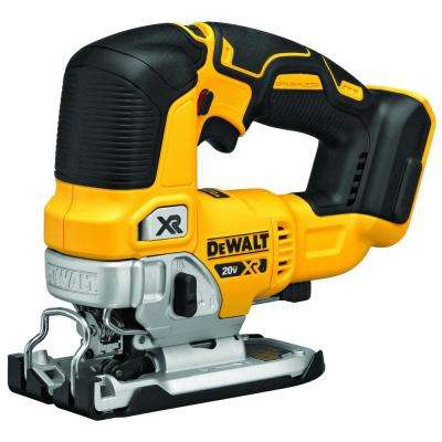 20-Volt Max Lithium Ion Brushless Cordless Jigsaw (Tool Only)