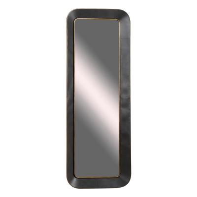 LITTON LANE Oversized Rectangle Grey Contemporary Mirror (70.0 in. H x 3.0 in. W)