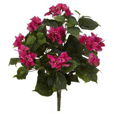 Indoor 20 in. Bougainvillea Artificial Plant (3-Set)