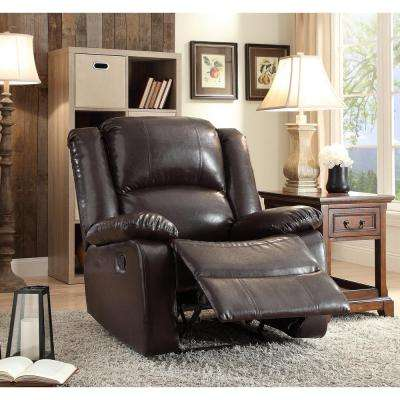 ACME Vita Recliner in Espresso & Recliners - Chairs - The Home Depot islam-shia.org