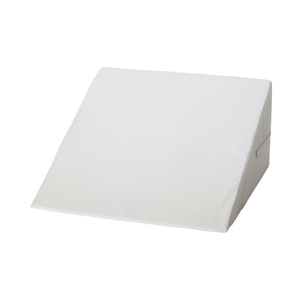 null 11.5 in. Foam Bed Wedge in White