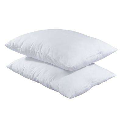 Adjustable Loft Gel Fiber Queen Pillow (Set of 2)