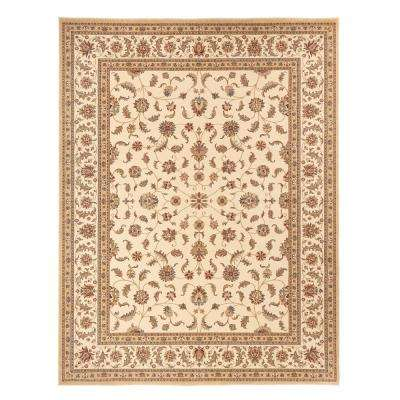 Maggie Cream 9 ft. x 12 ft. Area Rug