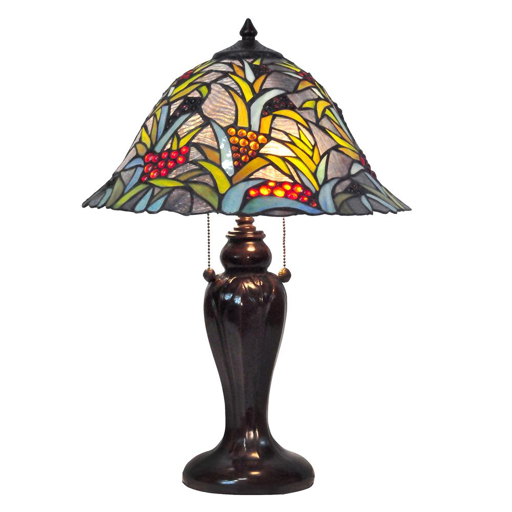Dale tiffany enid 16 in antique brass accent table lamp with antique bronze table lamp with tiffany shade aloadofball Gallery
