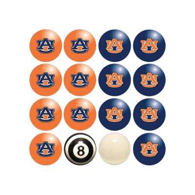 Auburn University Home Versus Away Billiard Ball Set
