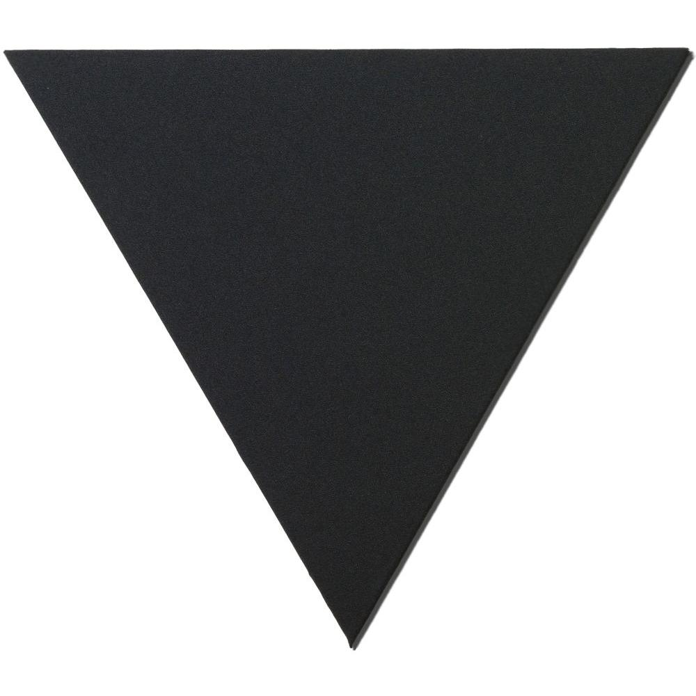 Owens Corning 24 in. x 24 in. x 24 in. Black Triangle Acoustic Sound Absorbing Wall Panels (2-Pack)