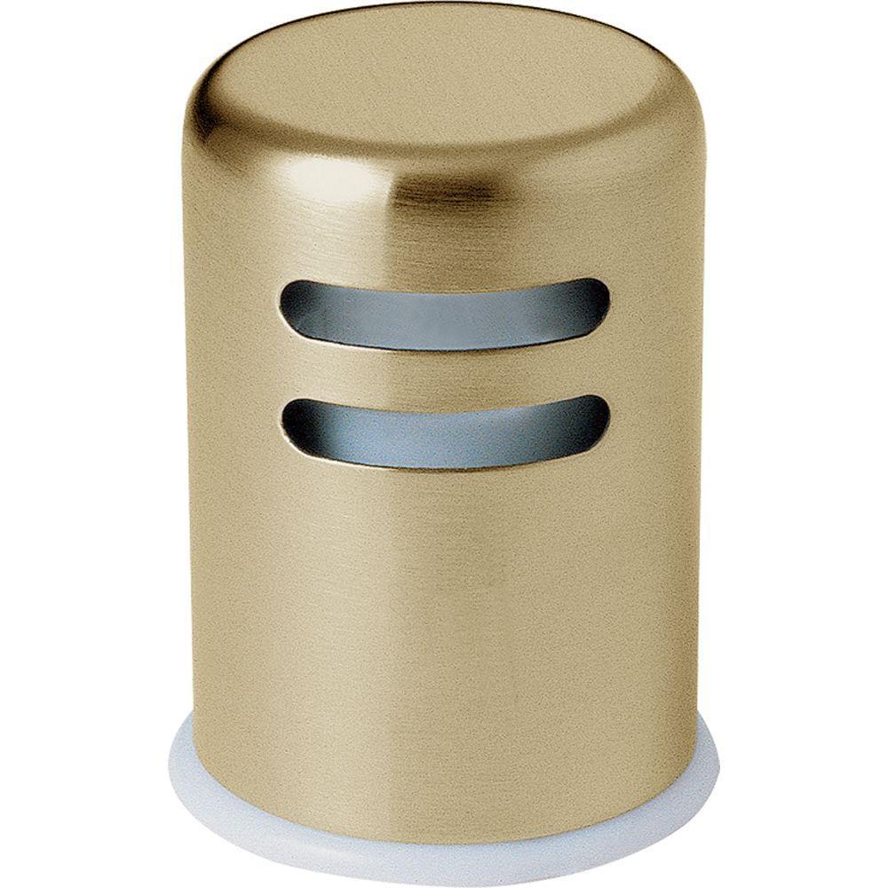 Delta Kitchen Air Gap in Champagne Bronze