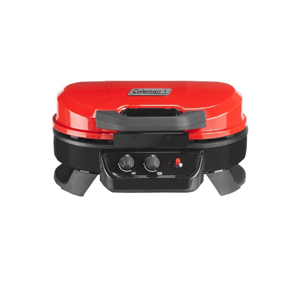 Coleman RoadTrip 225 Red TT Grill-2000033047 - The Home Depot