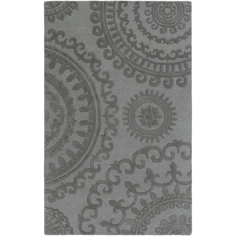 Pollack Sloane Gray 5 ft. x 8 ft. Indoor Area Rug