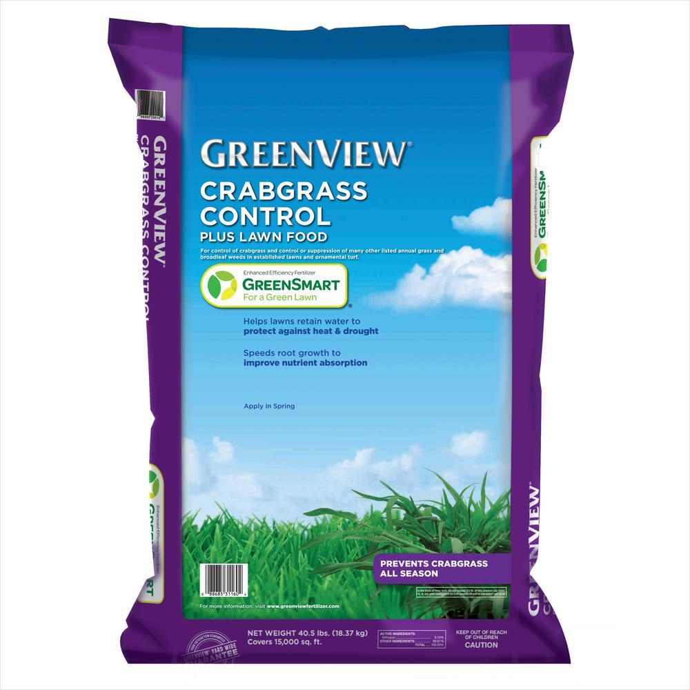 40.5 lbs. Crabgrass Control Plus Lawn Food