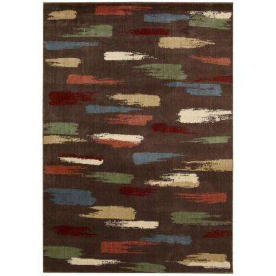 Expressions Chocolate 8 ft. x 11 ft. Area Rug