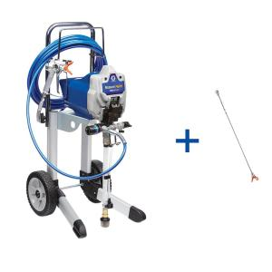 Graco ProX17 Cart Airless Paint Sprayer with 20 inch Tip Extension by Graco
