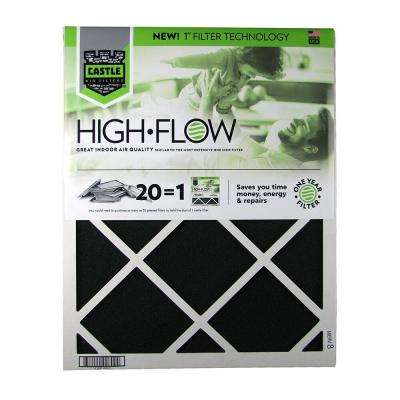 20 in. x 25 in. HVAC Air Filter - FRP 8 1-Year High Flow Filter