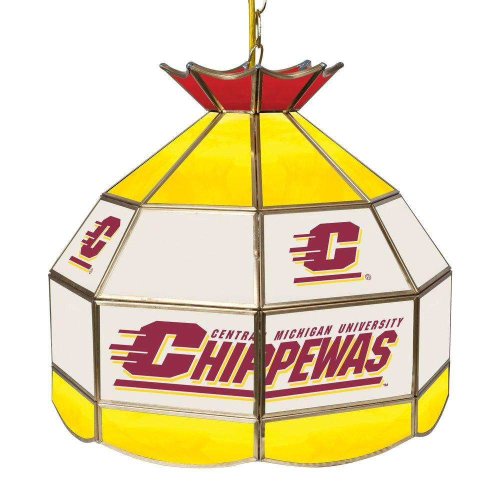 Trademark Central Michigan University 16 In Gold Hanging