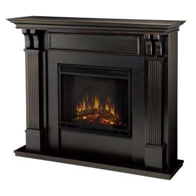 Ashley 48 in. Electric Fireplace in Blackwash