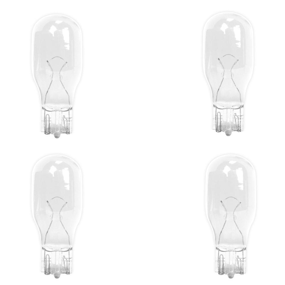 7-Watt Bright White (3000K) T5 Wedge Base Dimmable 12-Volt Landscape Garden Incandescent Light Bulb (4-Pack)