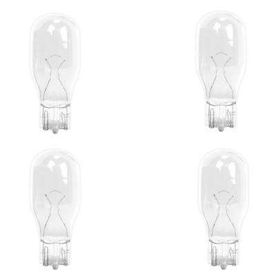 7-Watt Bright White (3000K) T5 Wedge Base Dimmable 12-Volt Landscape Garden Incandescent Light Bulb (4-Pack)
