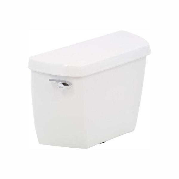 Wellworth Classic 1.28 GPF Single Flush Toilet Tank Only with Class Five Flushing Technology in White