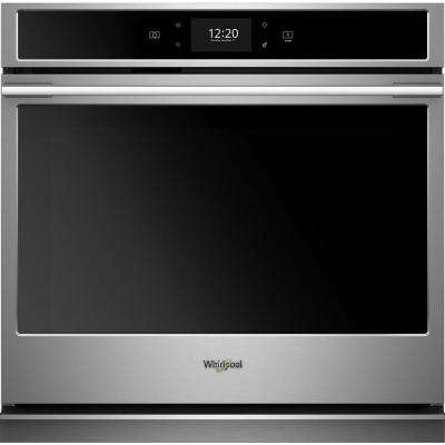 30 in. Smart Single Electric Wall Oven with True Convection Cooking in Fingerprint Resistant Stainless Steel