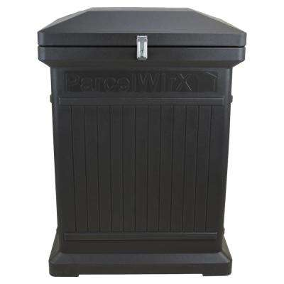 ParceWirx Premium Vertical Architectural Graphite Delivery Drop Box Hinged Lid with Swinging Latch for Locking