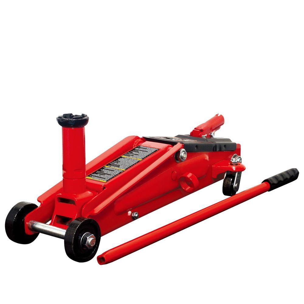 Big Red 3 5 Ton Steel Floor Jack T83502 The Home Depot