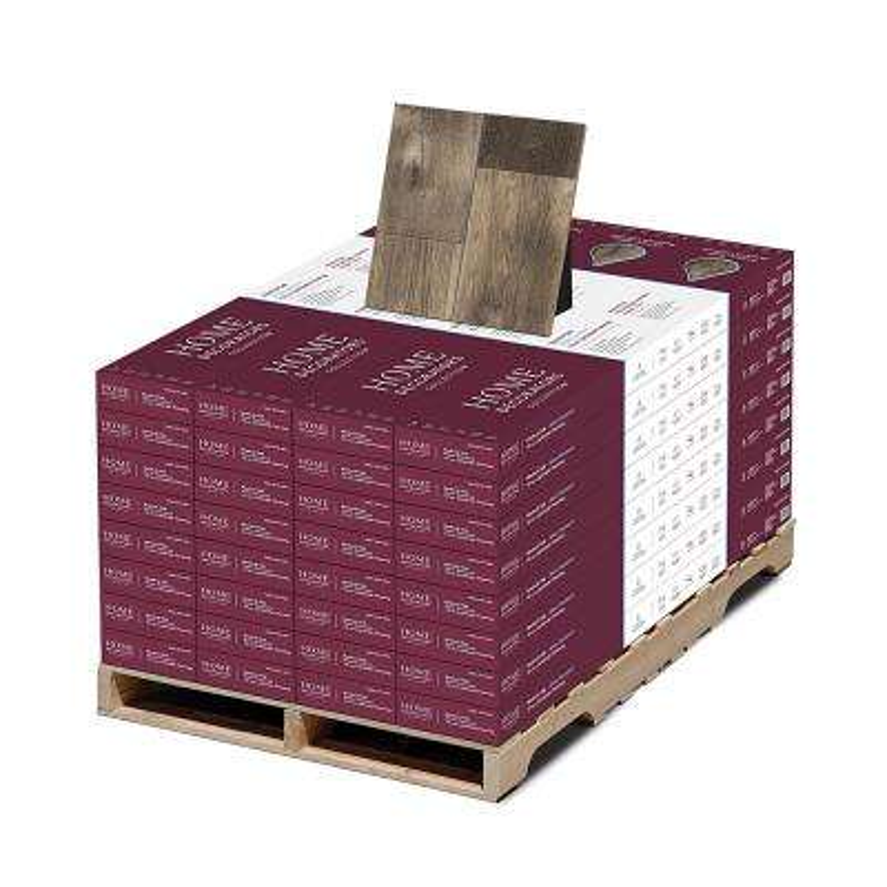 Water Resistant EIR Rexford Oak 12 mm T x 7-1/2 in. Wide x 50-2/3 in. Length Laminate Flooring (589.44 sq. ft./pallet)