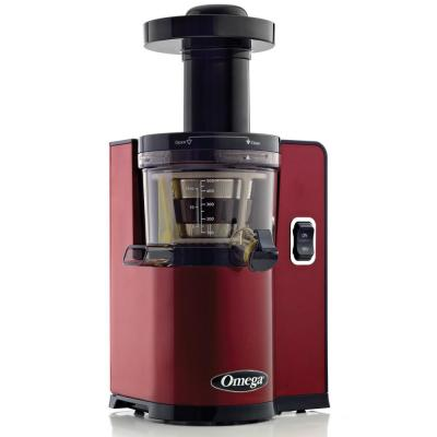Vertical Slow Speed Masticating Red Juicer