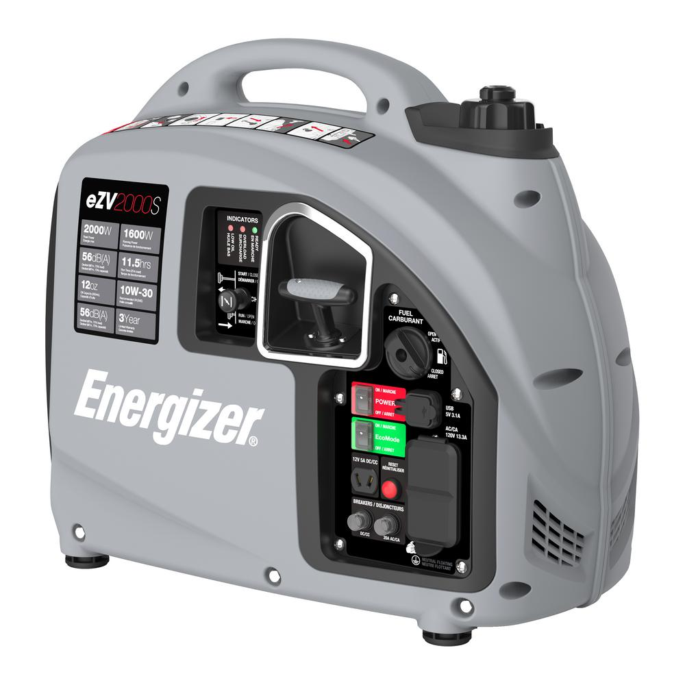2,000-Watt Gas Powered Portable Inverter Generator