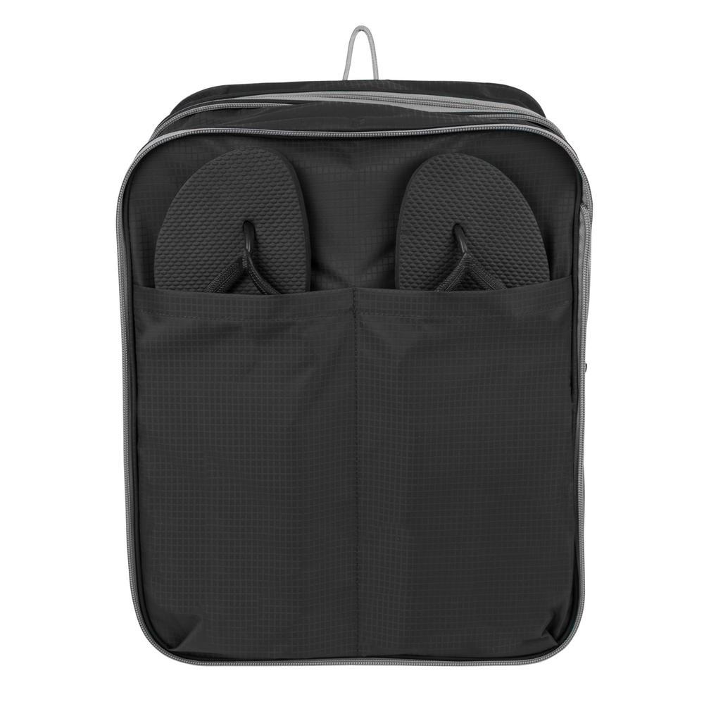 Expandable Black Packing Cube