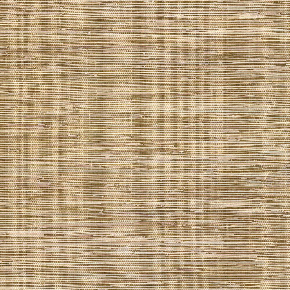 Printed Grasscloth Wallpaper: Norwall Grasscloth Wallpaper-BG21536
