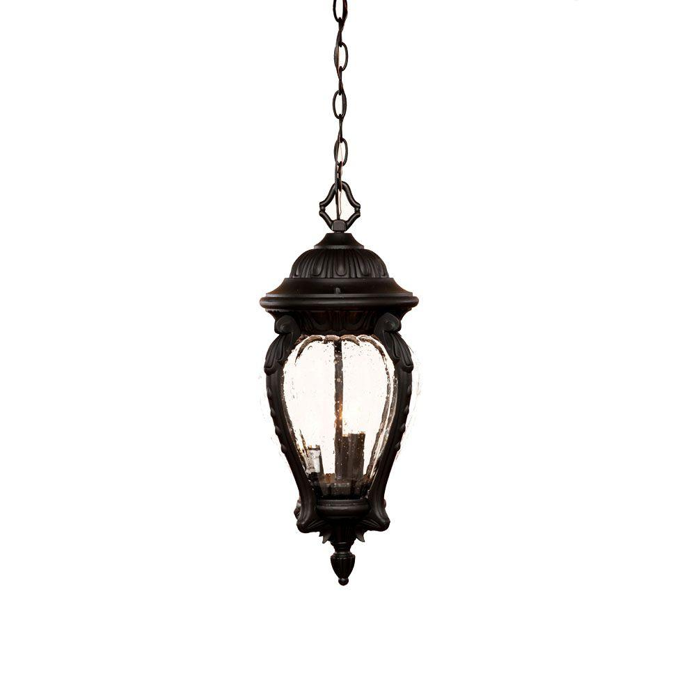 Light Shop In Nottingham: Acclaim Lighting Nottingham Collection 3-Light Matte Black