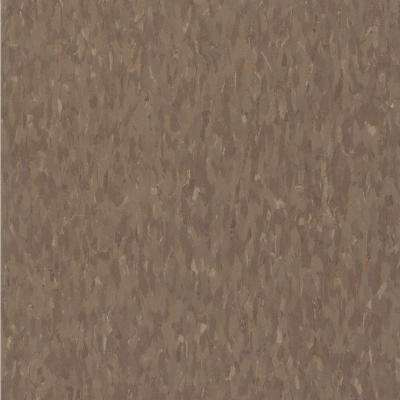 Take Home Sample - Imperial Texture VCT Chocolate Commercial Vinyl Tile - 6 in. x 6 in.