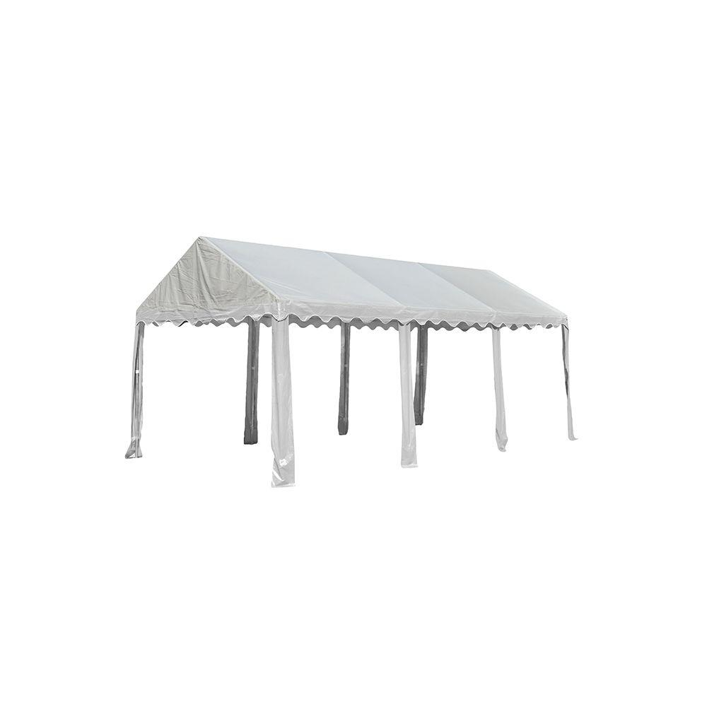 Home Depot Outdoor Party Tents : Shelterlogic ft white party tent the