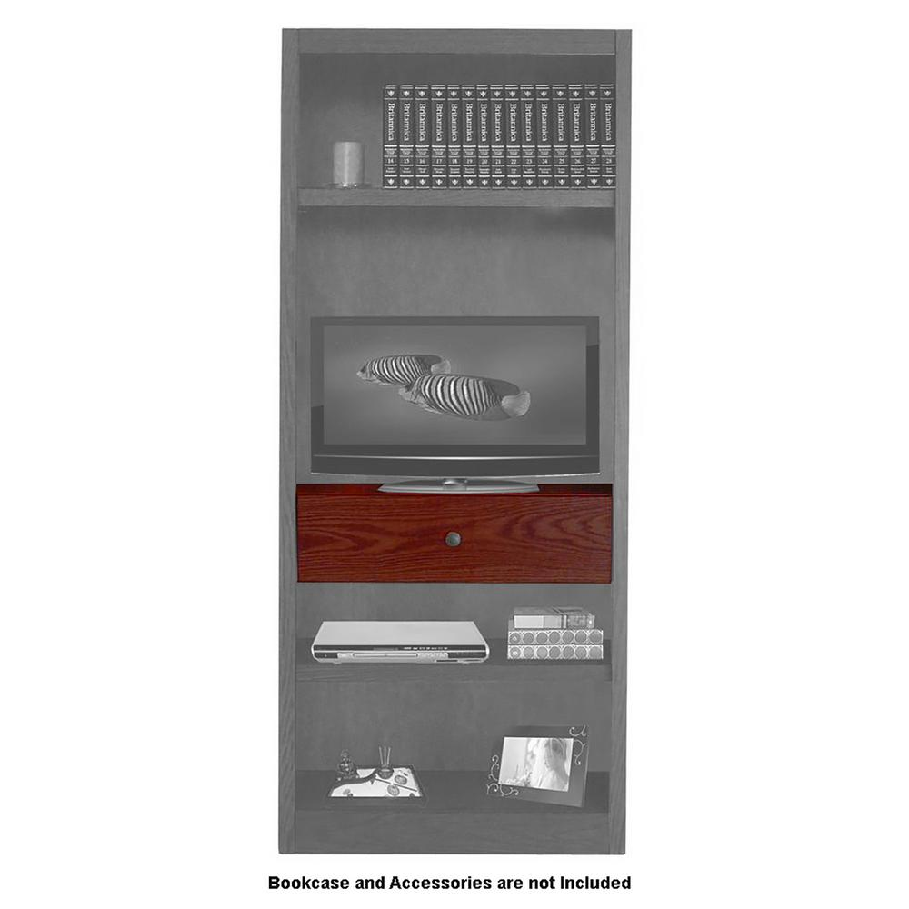 Concepts In Wood Midas Cherry Drop in Shelf and Drawer Unit