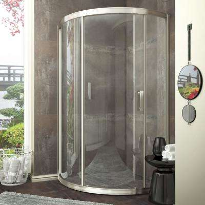 Framed Neo Round Sliding Shower Door