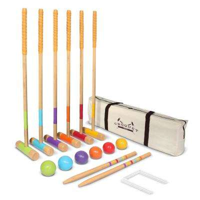 Premium Croquet Set - Full Size for Adults and Kids