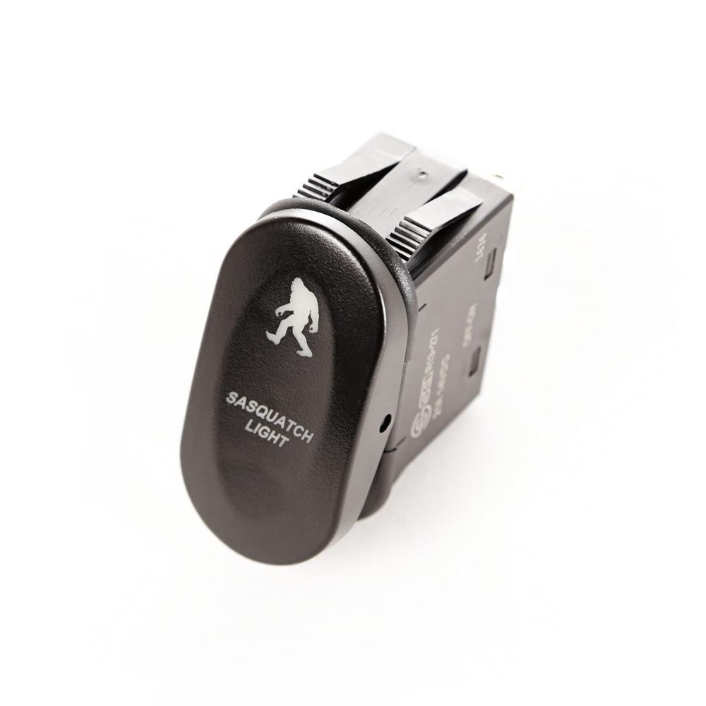 2-Position Sasquatch Lights Rocker Switch