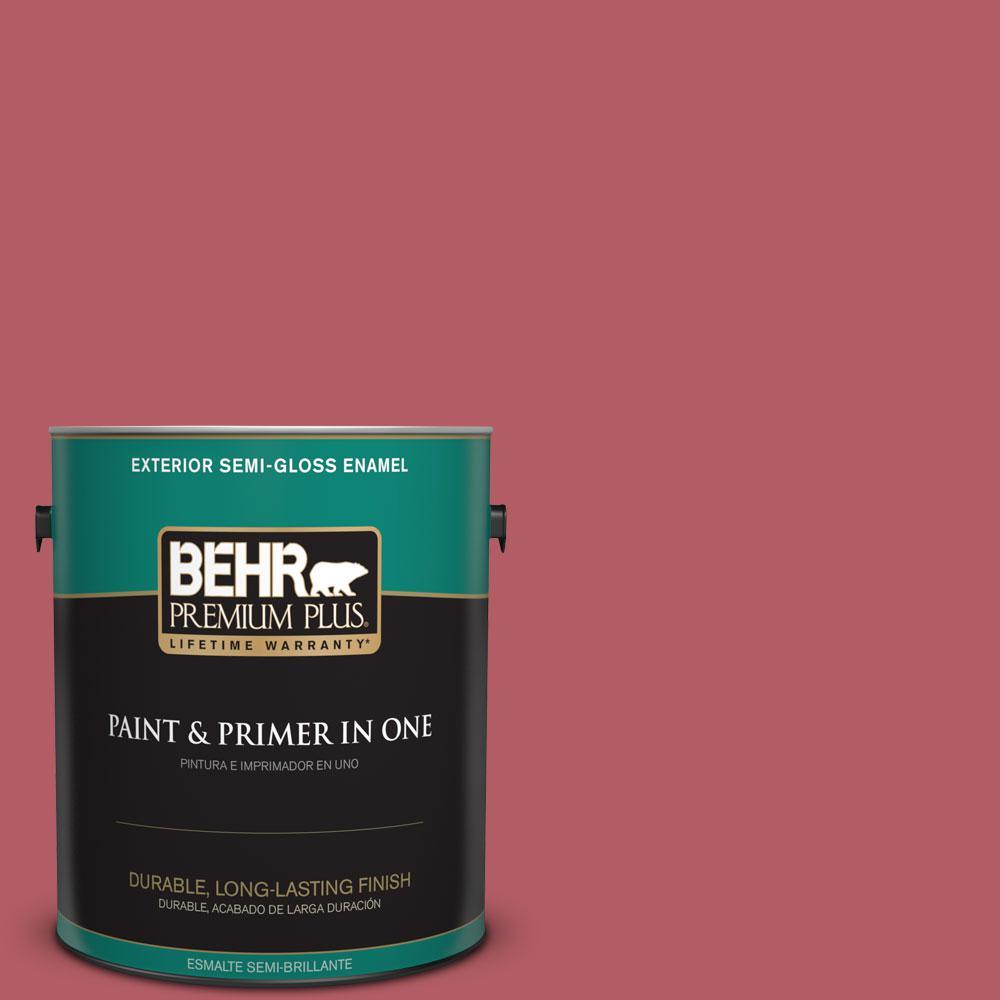 1-gal. #BIC-33 Cinnamon Candle Semi-Gloss Enamel Exterior Paint