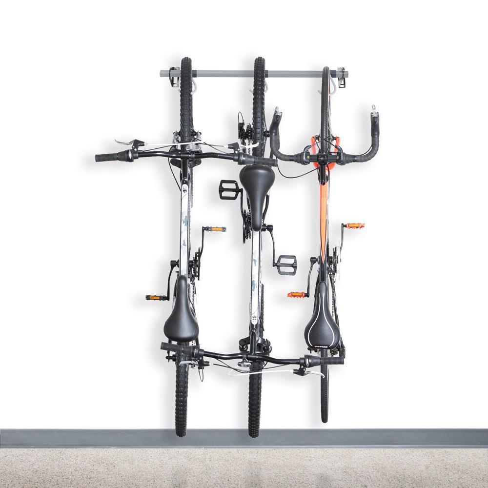 35 in. 3-Bike Storage Rack 2.0
