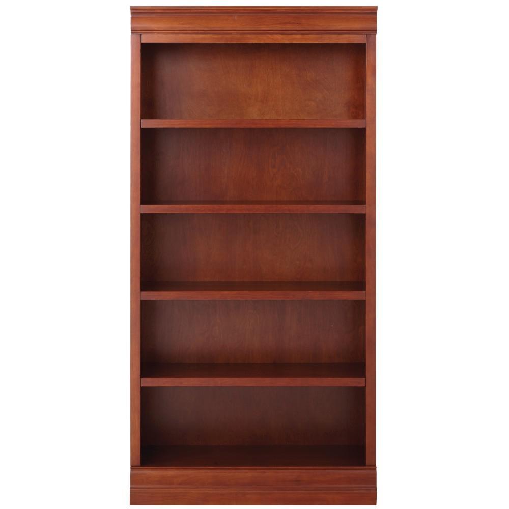 Louis Philippe Modular Center Sequoia Open Bookcase
