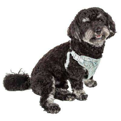 Fidomite X-Small Reversible and Adjustable Dog Harness with Bowtie