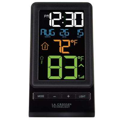 Color Digital Wireless Thermometer and Time