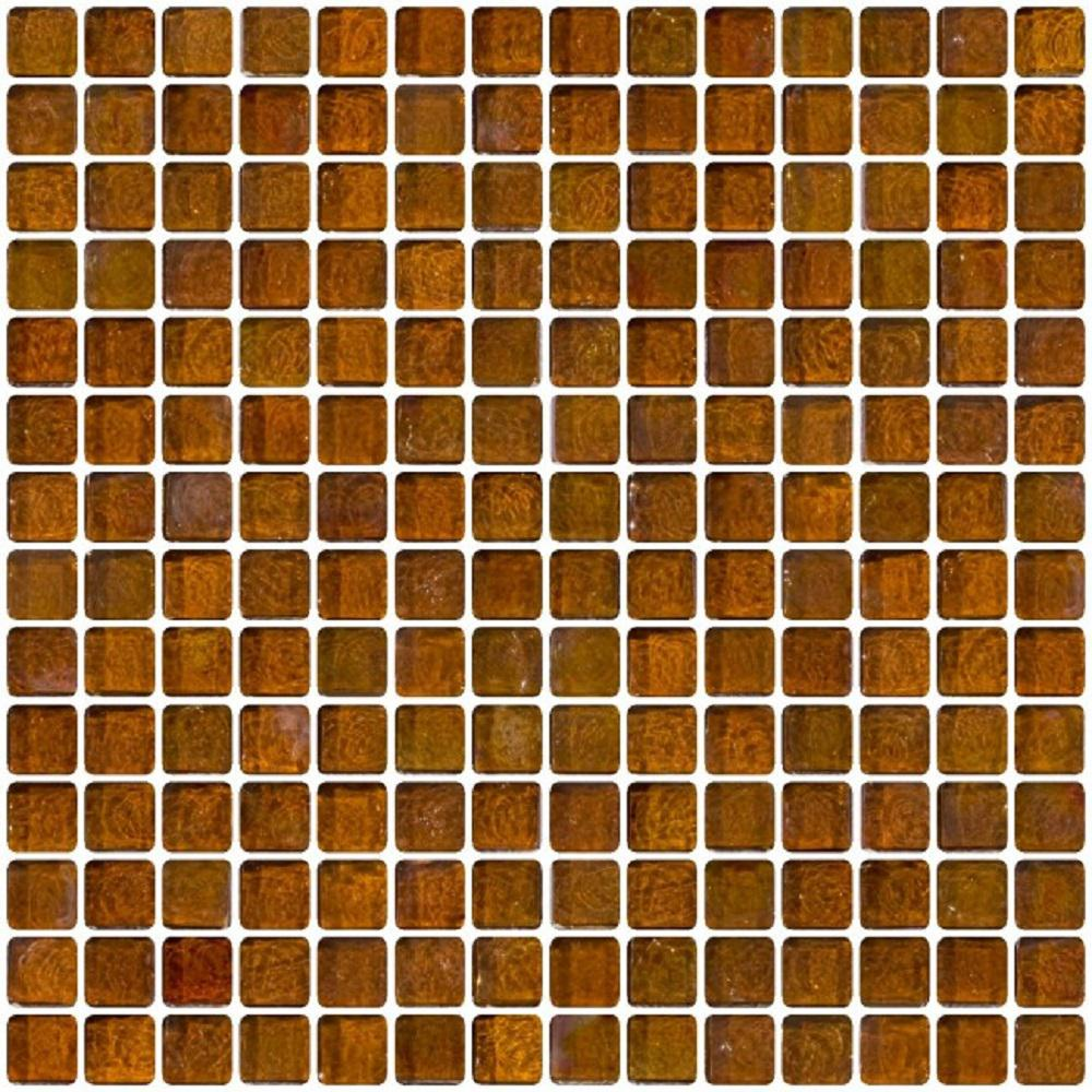 Ltl Home Products 12 In X 8 Mm Tile Esque Amber
