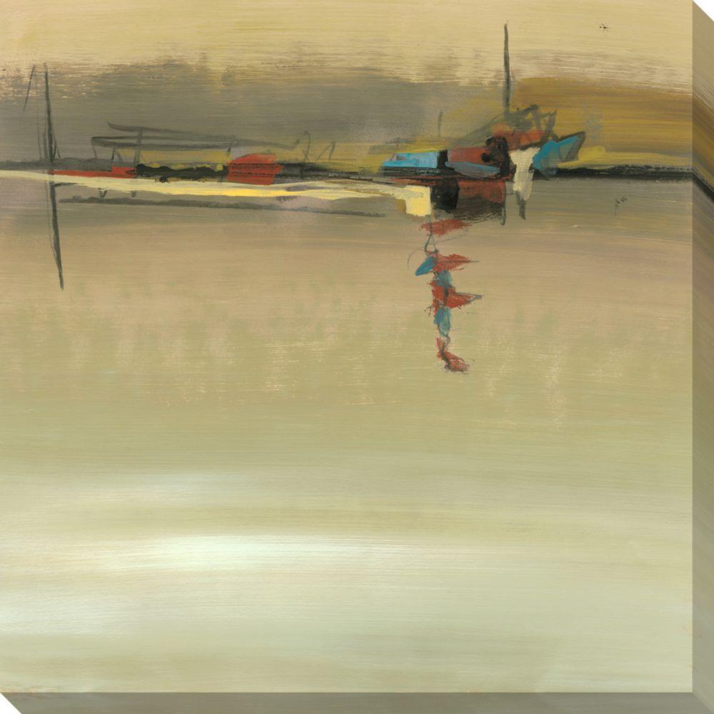 NEP Art 40 in. x 40 in. Horizon Line I Oversized Canvas Gallery Wrap