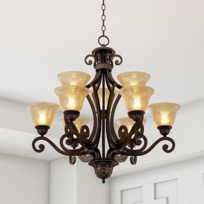 Symphony 9-Light Oil-Rubbed Bronze Chandelier