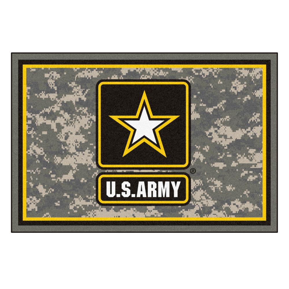 FANMATS U.S. Army 5 ft. x 8 ft. Area Rug