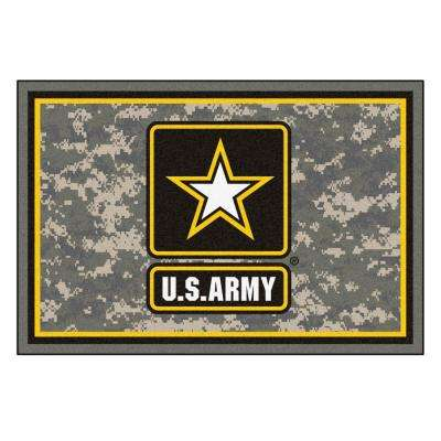 U.S. Army 5 ft. x 8 ft. Area Rug